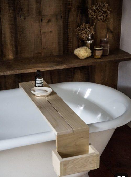 bath shelf light