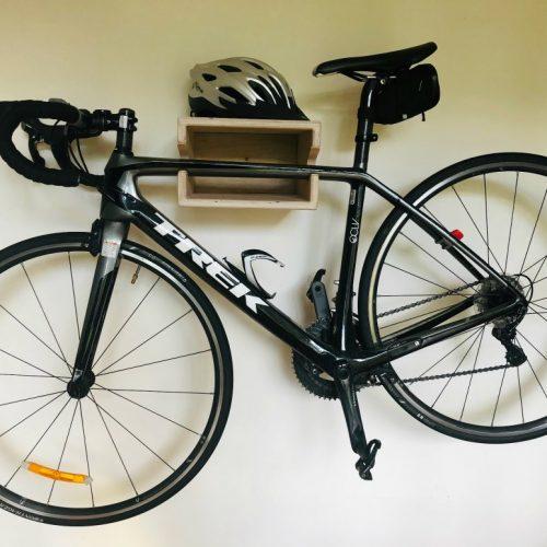 bike shelf and bike